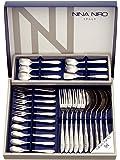 NINA NIRO 餐具26件套 刀叉餐具礼品套装(不锈钢) 151-726