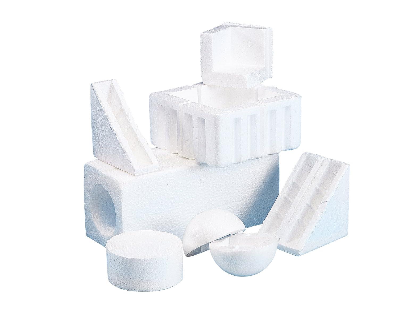 Swiftpak 85 x 85 x 23mm Polystyrene Corner Protector Pack of 576
