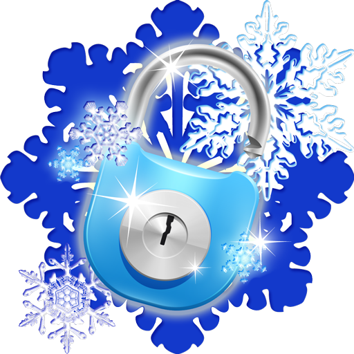 Top Snowflakes (Smart App Lock Snowflakes Theme)