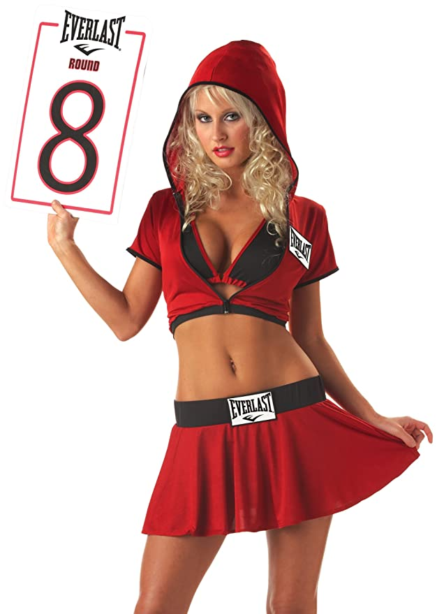 Amazon.com California Costumes Womenu0027s Everlast Ring Card Girl Costume Clothing  sc 1 st  Amazon.com & Amazon.com: California Costumes Womenu0027s Everlast Ring Card Girl ...