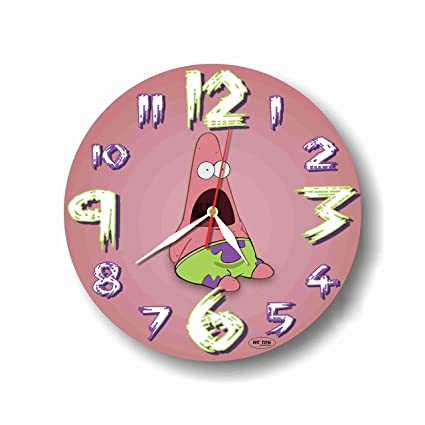 Art time production Spongebob-Patrick Star 11 Handmade Wall Clock - Get Unique