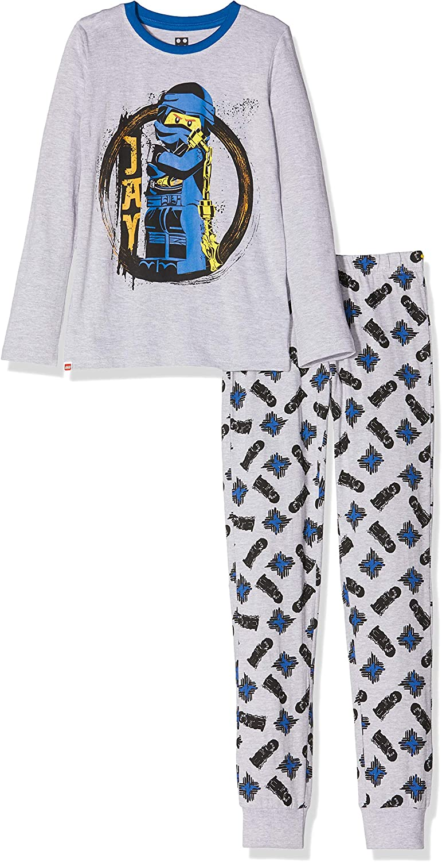 7 Ans Fille Gris m/élang/é LEGO Ninjago CM Pyjama Set Ensemble 921