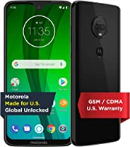 Moto G7 with Alexa Hands-Free – Unlocked – 64 GB – Ceramic Black (US Warranty) – Verizon, AT&T, T–Mobile, Sprint, Boost, Cric