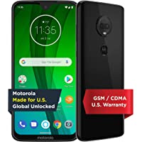 Moto G7 with Alexa Hands-Free – Unlocked – 64 GB – Ceramic Black (US Warranty) – Verizon, AT&T, T–Mobile, Sprint, Boost…