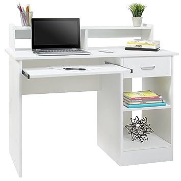 Mejor elección productos para ordenador Home mesa para portátil College Oficina en casa muebles estación de trabajo: Amazon.es: Oficina y papelería