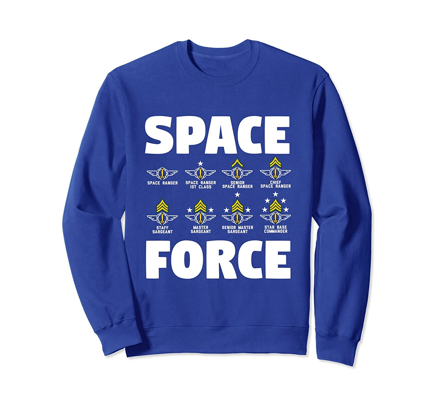 Space Force Sweatshirt USA-mt