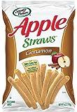 Sensible Portions Apple Straws, Cinnamon, 6 oz. (Pack of 6)