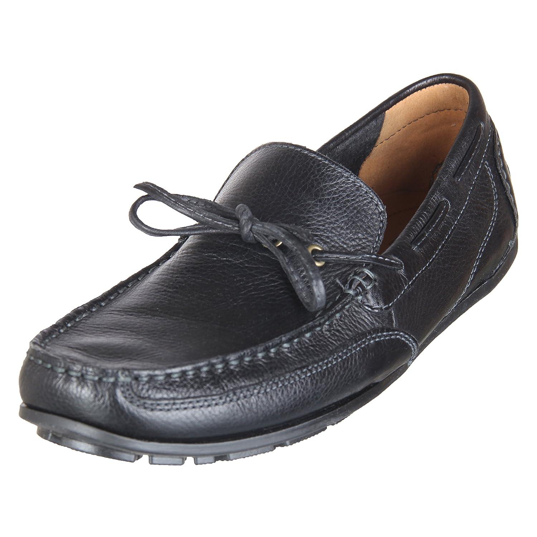 Clarks Benero Edge Black Leather