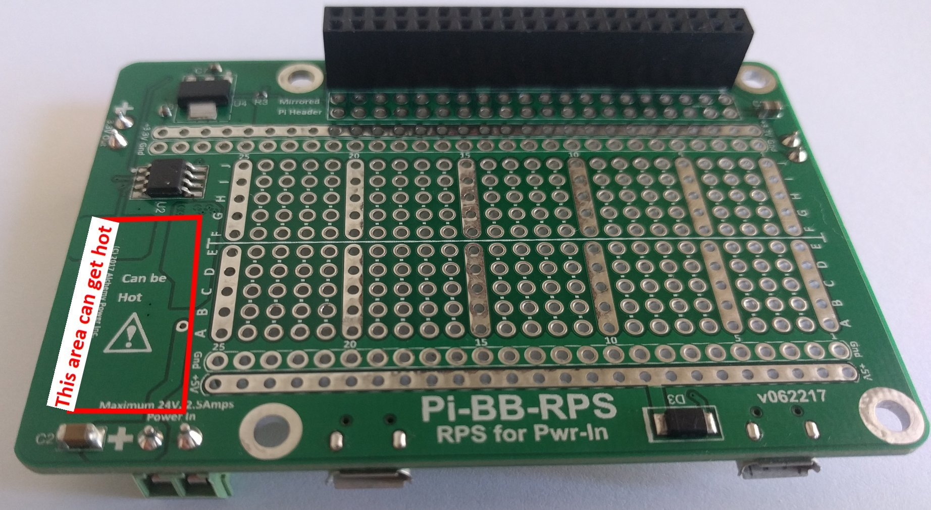 Alchemy Power Inc. Pi-BB-RPS Powered Breadboard with Redundant Power Supply (RPS) and more... by Alchemy Power Inc. TM (Image #7)