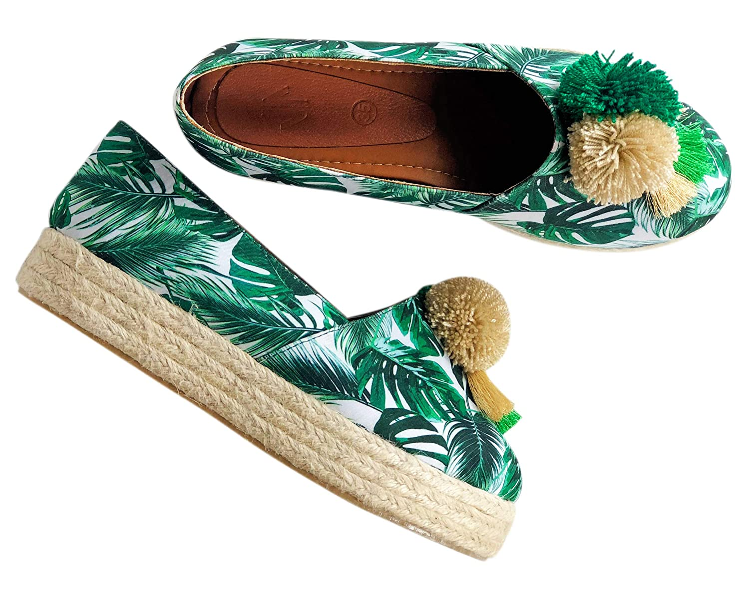 Amazon.com | Vida Leather Moccasin Slippers for Women | Mocasines para Mujer | Slippers