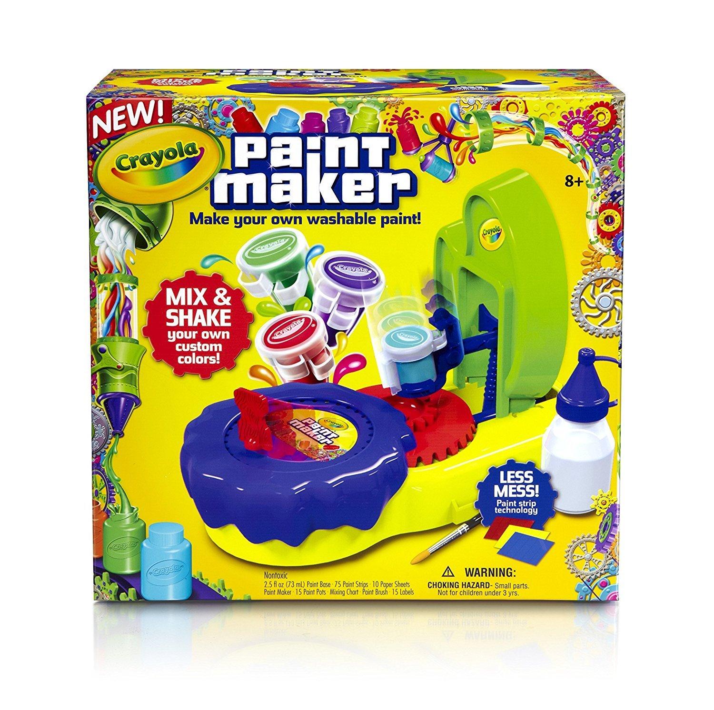 Crayola Paint Maker Kit Amazon Toys Games