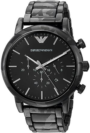 b0506a3cde エンポリオ アルマーニ EMPORIO ARMANI メンズ AR11045 迷彩 カモフラージュ柄 クォーツ クロノグラフ 腕時計 ウォッチ 箱  ケース