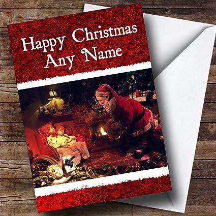 Amazon secret santa christmas greetings card personalized secret santa christmas greetings card personalized m4hsunfo