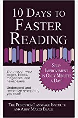 10 Days to Faster Reading: Jump-Start Your Reading Skills with Speed reading Kindle Edition