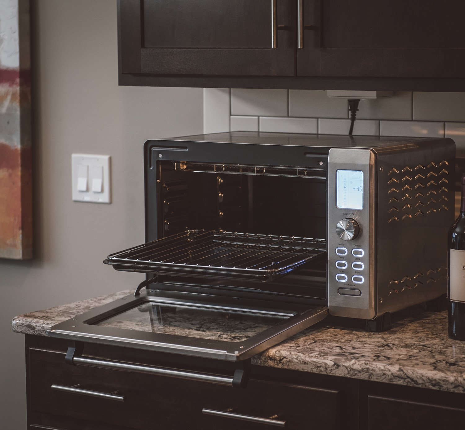 oven infrared inaflash toaster flashxpress panasonic review giveaway and