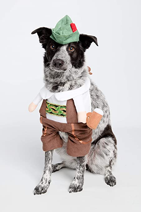 64839eca6 Pet Krewe German Oktoberfest Dog Costume - Barktoberfest Halloween Dog  Costume (Large)