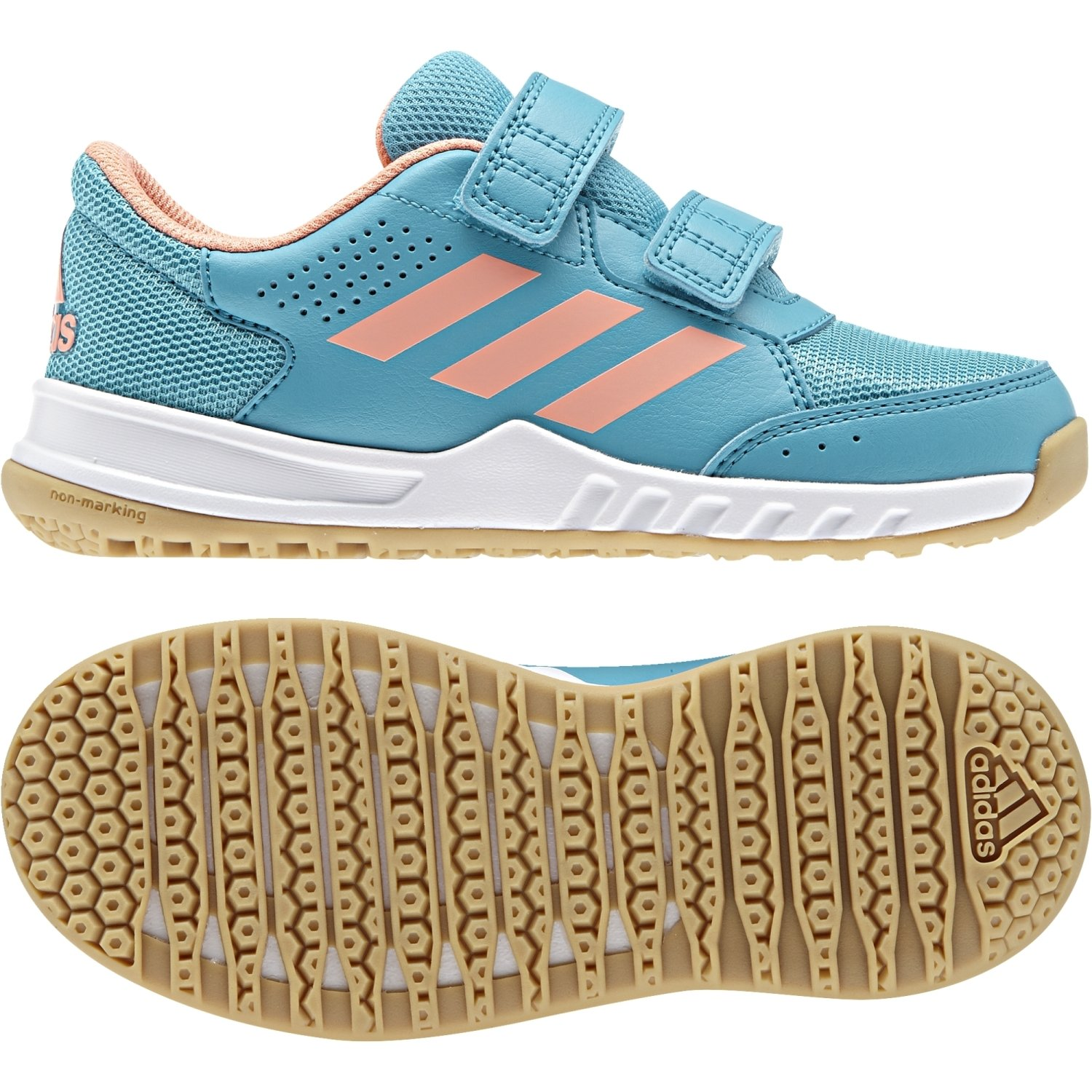 d8af6ca4472348 adidas Unisex Kids  Interplay 2 Coolfoam Kinder Fitness Shoes   Amazon.co.uk  Sports   Outdoors