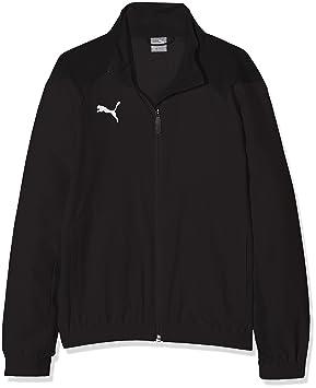 Puma Liga Sideline Jr Camiseta de equipación, Niños, Negro Black White, 116: Amazon.es: Deportes y aire libre