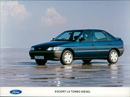 Image Unavailable. Image not available for. Color: Vintage photo of Ford Escort LX Turbo Diesel