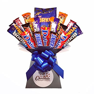 13d65128c2b6 Men s Chocolate Bouquet - Sweet Hamper Tree - Perfect Gift  Amazon ...