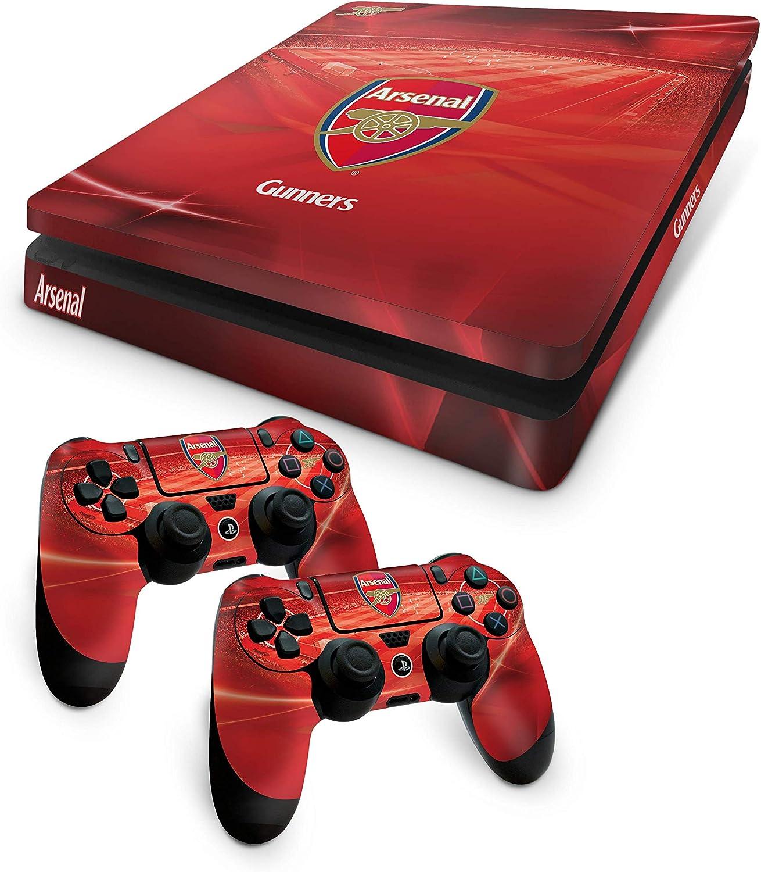 Official Arsenal FC PS4 Slim Console Skin and 2x Controller Skin Combo Pack [Importación inglesa]: Amazon.es: Videojuegos