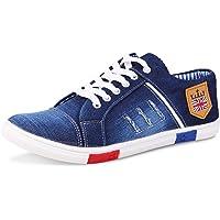 Ajay Footwear Men's Denim Casual Shoes