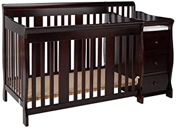 Amazoncom Storkcraft Portofino 4 In 1 Fixed Side Convertible Crib