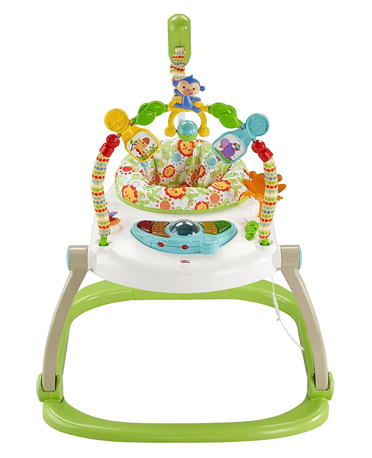 Fisher-Price Rainforest Friends SpaceSaver Jumperoo CHN44
