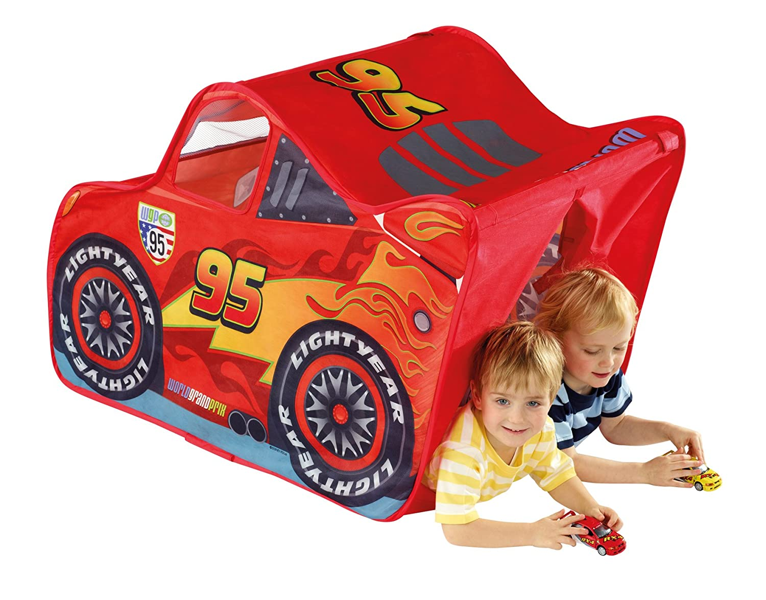 sc 1 st  Amazon UK & Disney Cars Lightning McQueen Feature Tent: Amazon.co.uk: Toys u0026 Games