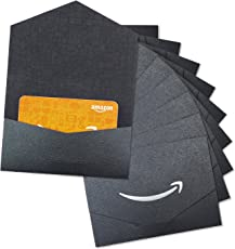 Amazon Gift Sleeves with Amazon Anytime Gift Cards, 10 Pack