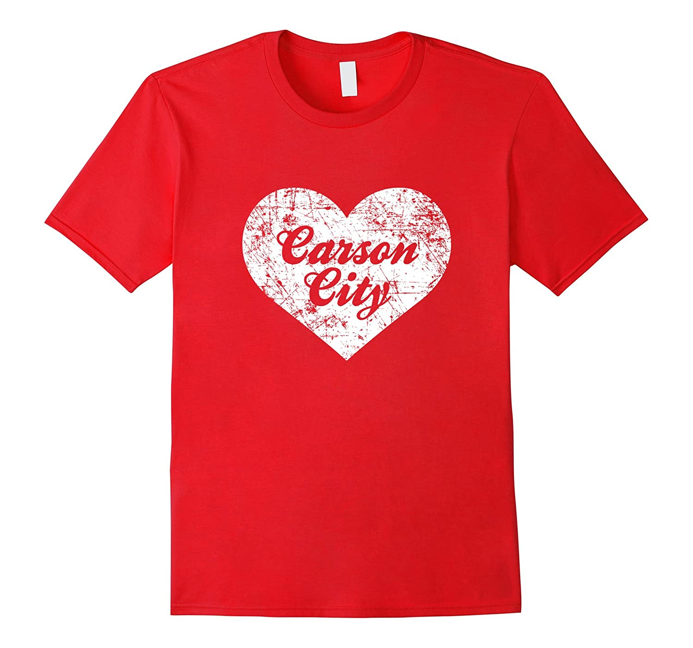 I Love Carson City Shirt Funny Cute Nevada Gift Souvenir-CD