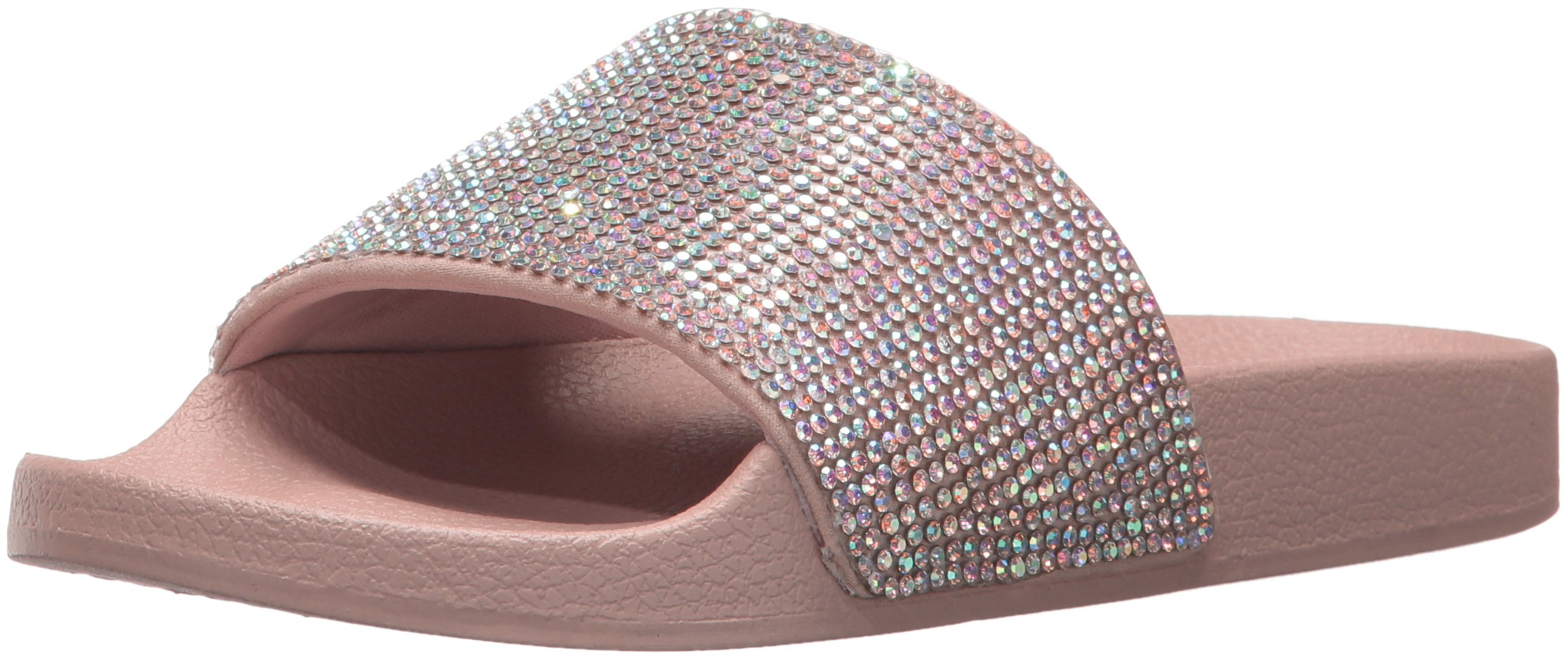 Blue by Betsey Johnson Women's SB-Dixie Slide Sandal, Blush Multi 993, 10 M US