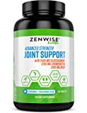 Glucosamine Chondroitin Sulfate MSM Curcumin - Joint Supplement with Hyaluronic Acid for Extra Strength Relief - Natural…