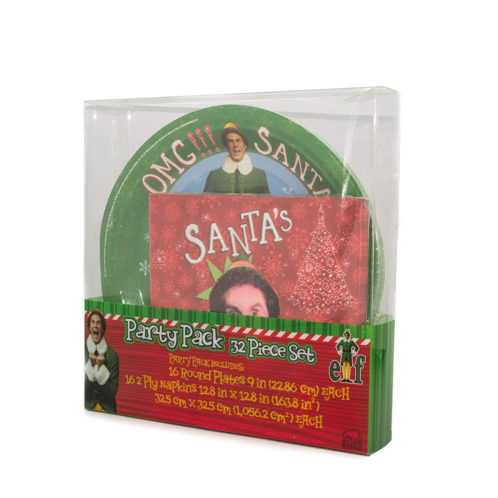 Christmas Paper Plate and Napkin Party Pack by Warner Bros