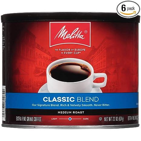 Melitta Classic Blend Coffee, Medium Roast