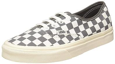 Vans Mens Pewter Grey Marshmallow Authentic Sneakers-UK 6 1e1d234c0