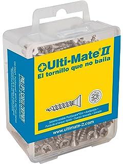 Ulti-Mate II B40040L - Pack de 100 tornillos para madera (4 x 40