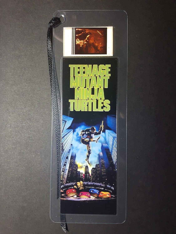 TEENAGE MUTANT NINJA TURTLES movie film cell bookmark ...