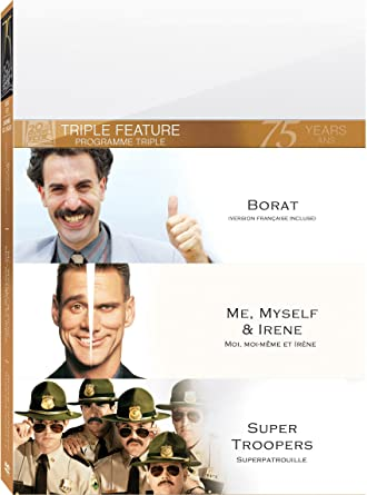 Amazon Com Borat Me Myself And Irene Super Ws Movies Tv