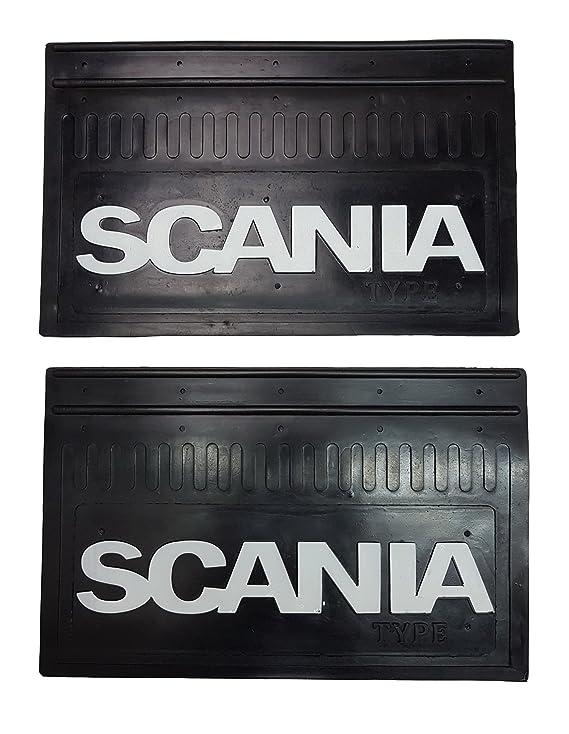 Juego de 2 piezas. Guardabarros delantero de goma resistente, solapas para barro con adhesivo reflectante en relieve para camión, camión, camión, camión, ...