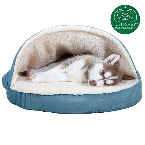 Amazon.com: Cama redonda para mascotas FurHaven, 26