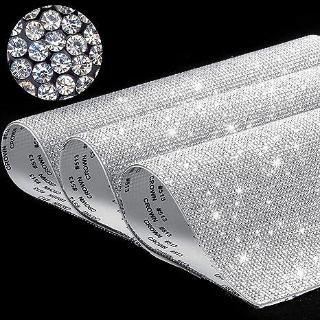 Heart Self Adhesive Glitter Rhinestone Crystal Stickers