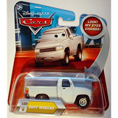 Disney / Pixar CARS Movie 155 Die Cast Car with Lenticular Eyes Series 2 Duff Wrecks: Toys & Games