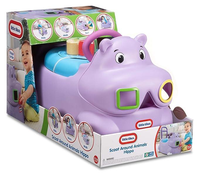 Little Tikes andador - correpasillos 3 en1 hipopótamo