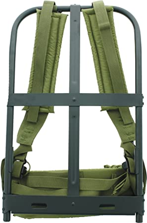 New Olive Drab Alice Pack Frame with OD Straps by Army Universe ... 0e967563b8c