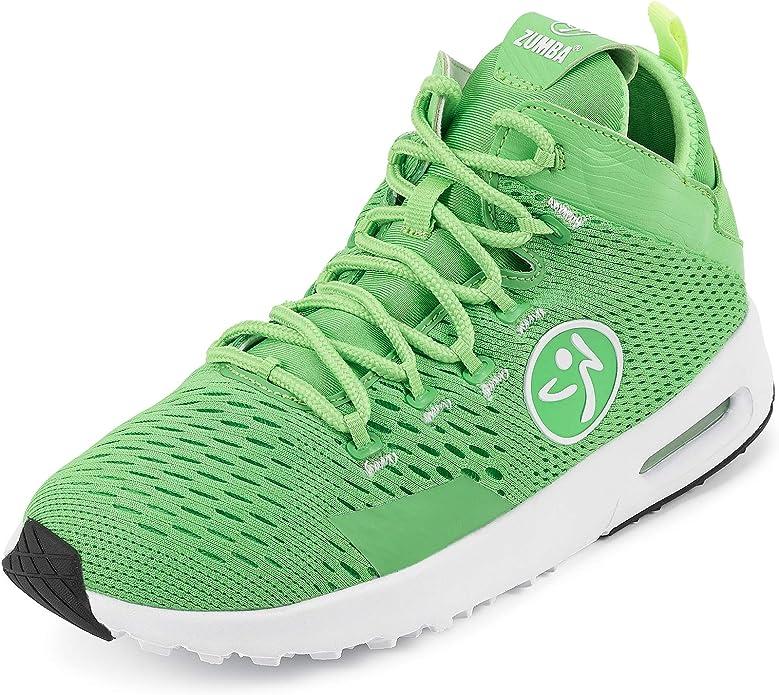 Zumba Fitness Zumba Air Classic Remix Zapatillas Altas de Mujer Dance Fitness Entrenamiento Sneakers de Moda, Deporte, Green 0, 38 EU: Amazon.es: Zapatos y complementos