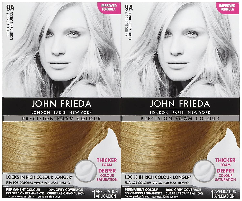 Amazon John Frieda Precision Foam Hair Colour Light Ash