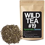 Spearmint Tea, Loose Leaf Herbal Tea, Organically Grown Wild Tea #19 by Wild Foods (4 ounce)