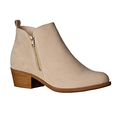 Womens 'Luck' Fashionable Short Booties