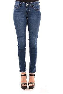 Liu Jo UXX028D4186 Pantalones Vaqueros Mujer 32: Amazon.es ...